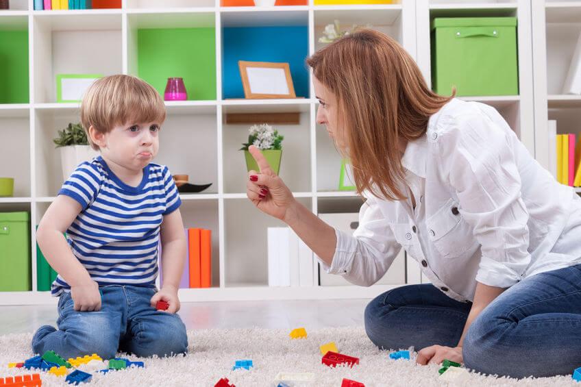 子供の叱り方