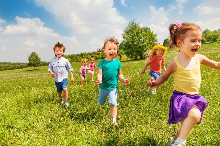 運動神経が良い子供