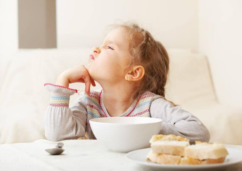 子供がご飯を食べない