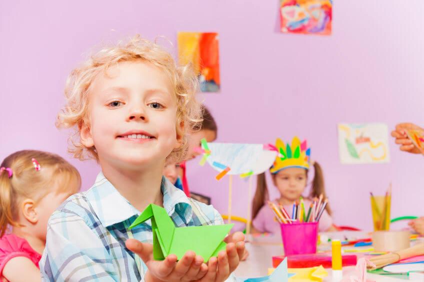 子供の知能を伸ばす折り紙教育のすすめ