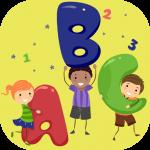 アルファベット文字と発音(子供向け知育ゲーム_数とかぞえ方, 子供向け追跡ゲーム,子供向け色ゲーム ,子供は形を学びます)