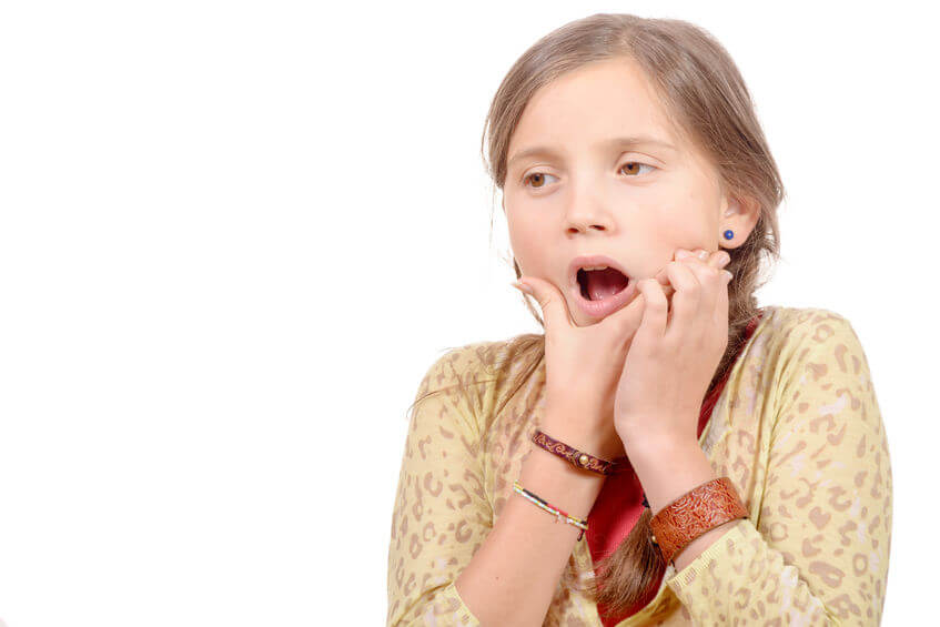子供の虫歯の進行は早い