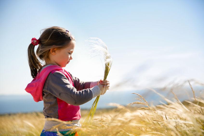 アレルギー症状に悩む子供