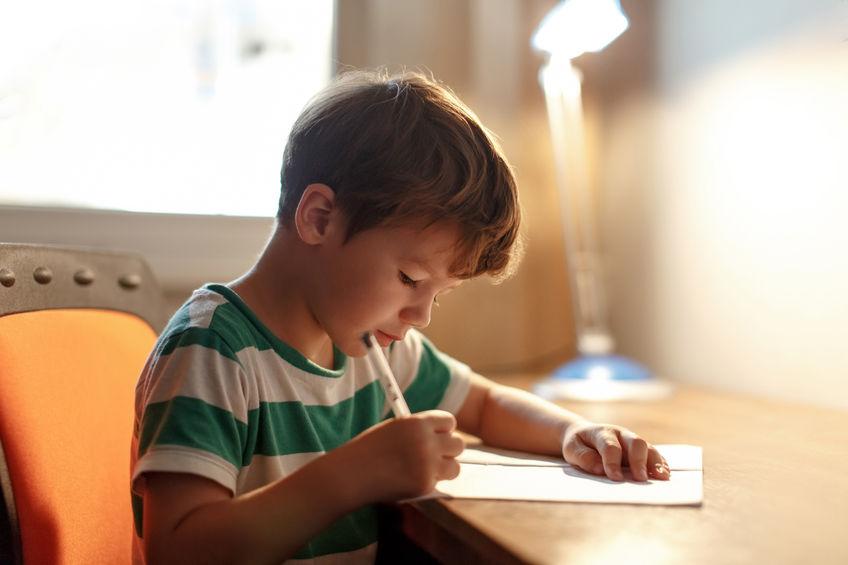 公文教室での学習と自宅での宿題について