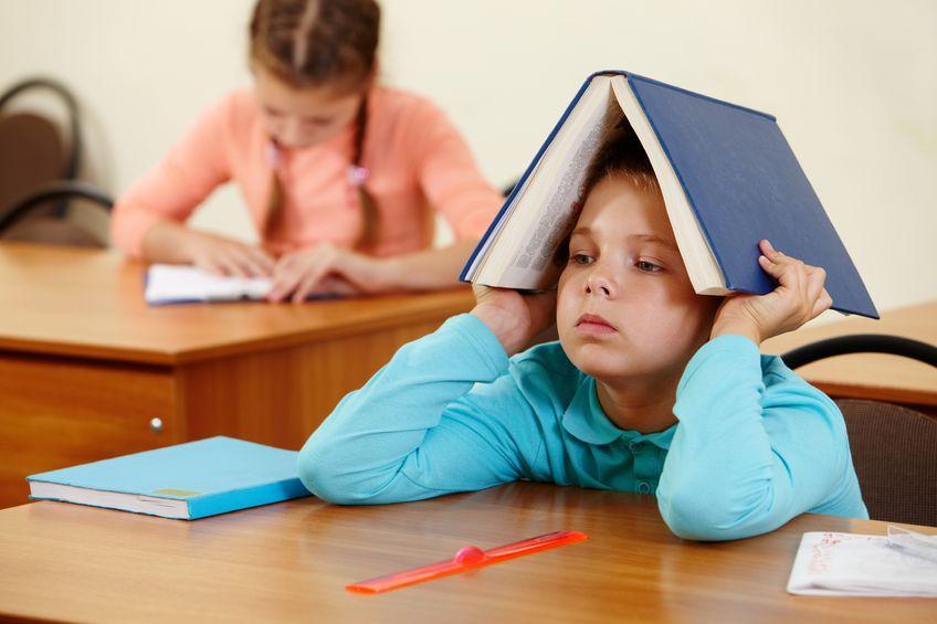 勉強しない、できない子