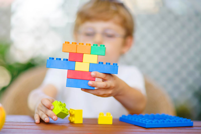 パズル、ブロック、数字遊びを多くさせよう
