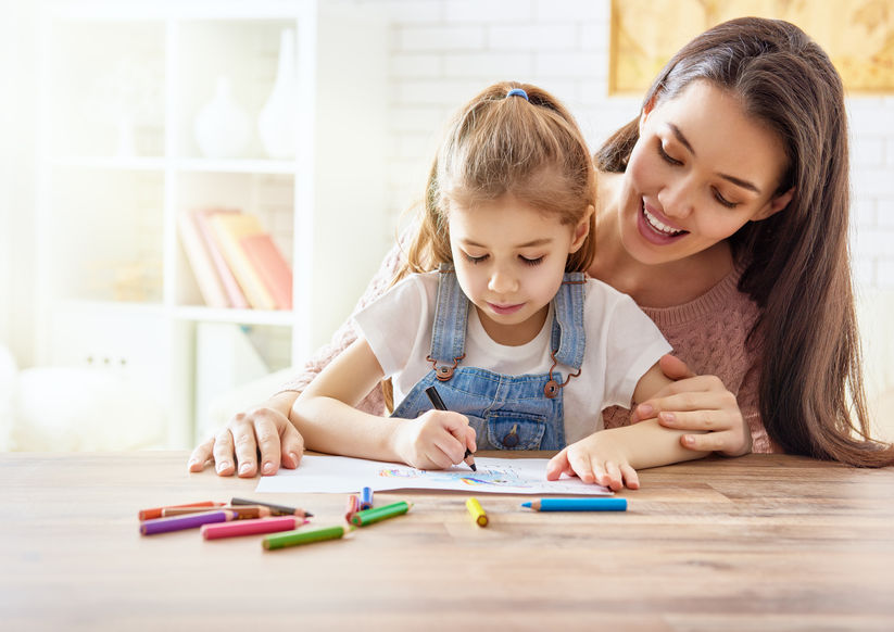 勉強できる子供のママ