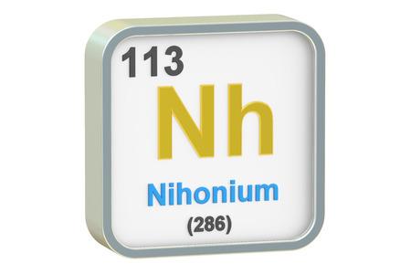 ニホニウムについて