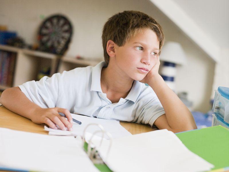 子供が宿題をしないのは何故なのか?