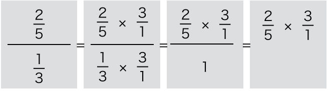 分数の割り算を計算2