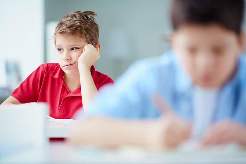 塾で辞める子供