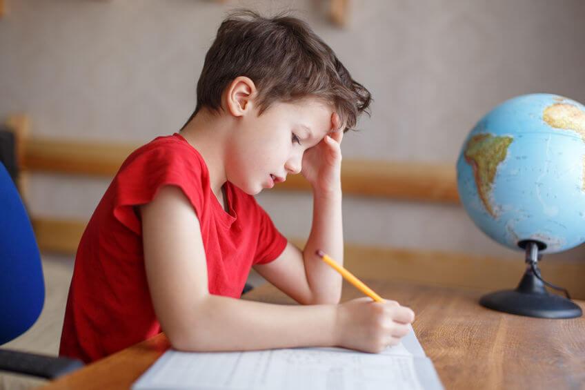 中学受験をする六年生
