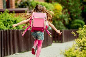 小学校入学前の女の子