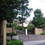 立教女学院中学校の校舎