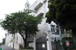横浜雙葉中学校の校舎