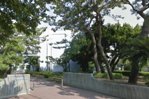逗子開成中学の校舎