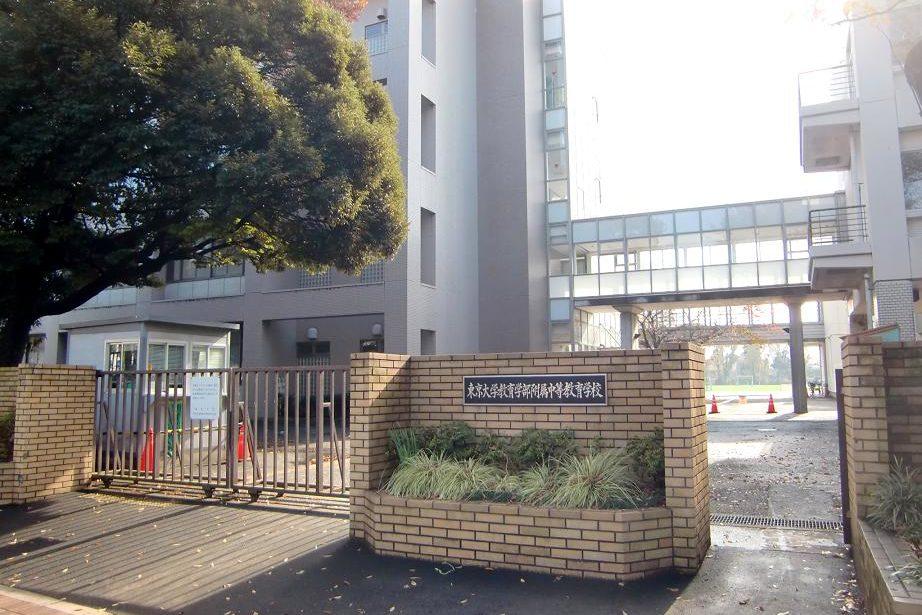 東京大学教育学部附属中等教育学校の校舎