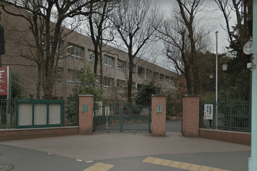 明星小学校の校舎