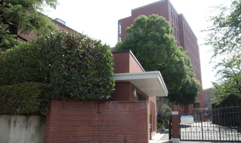中央大学附属中学校の校舎