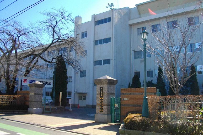 さいたま市立浦和中学校の校舎