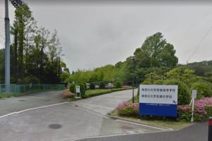 神奈川大学附属中学校の校舎
