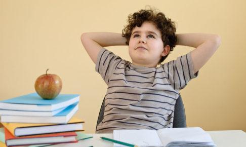 子供の集中力