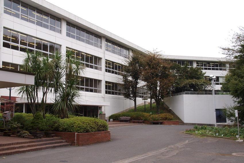 日本女子大学附属中学校の校舎