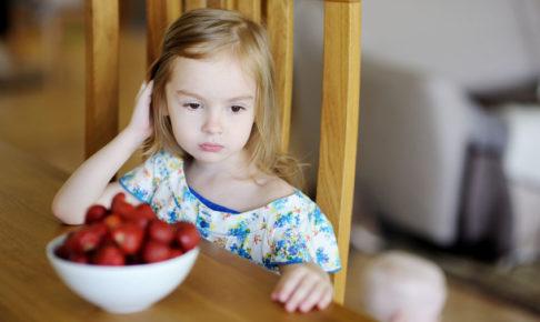 食が細い子供