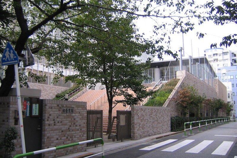 桜蔭中学校の校舎