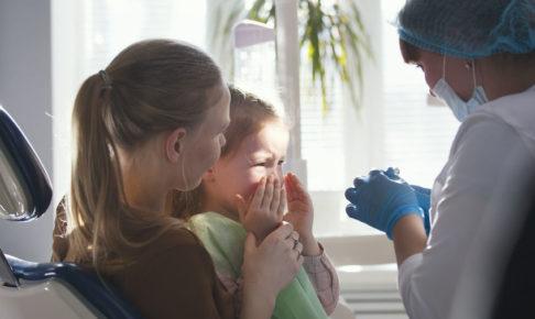 歯医者を嫌がる子供
