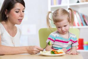 野菜の好き嫌いがある子供