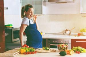 妊娠中の食事