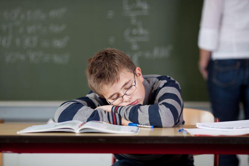 中学受験で疲れている子供