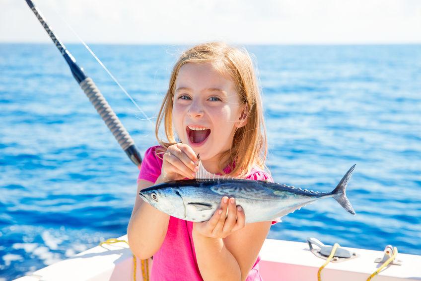 魚が好きな子供