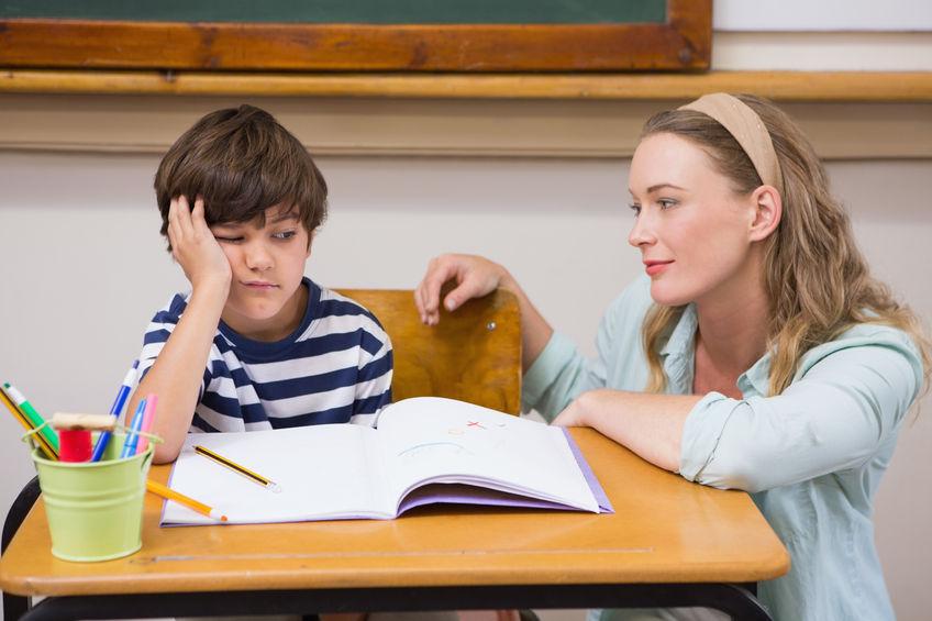 勉強が出来ない子供