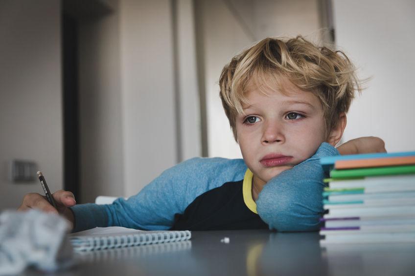 勉強が嫌いな子供