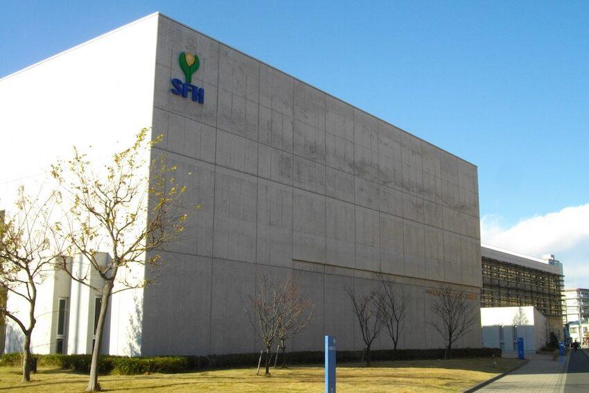 横浜サイエンスフロンティア中学校の校舎