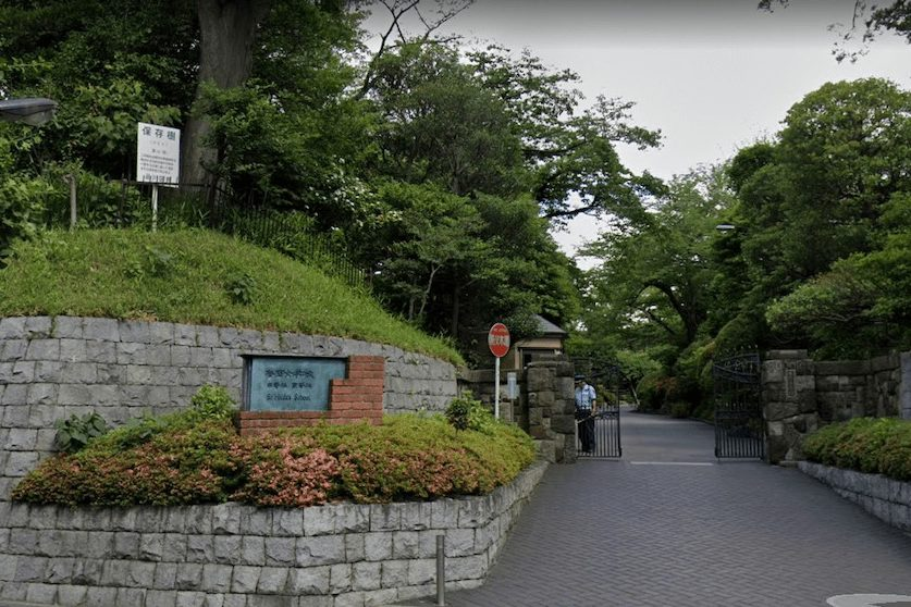 香蘭女学校の校舎