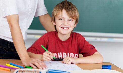 勉強が得意な子供