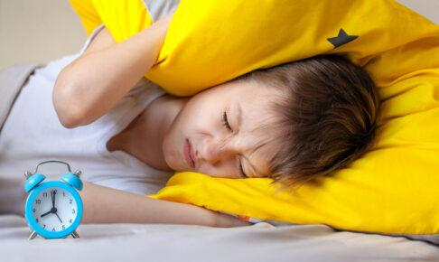 寝起きの悪い子供