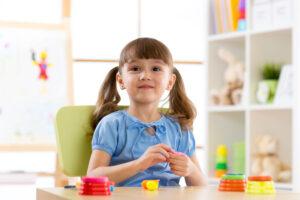 幼稚園受験をする子供