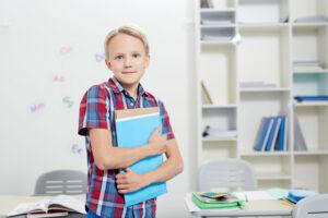 個別塾に通う受験生