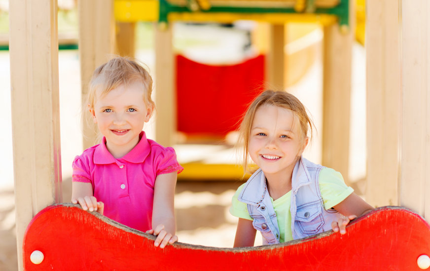 プレ幼稚園に通う子供